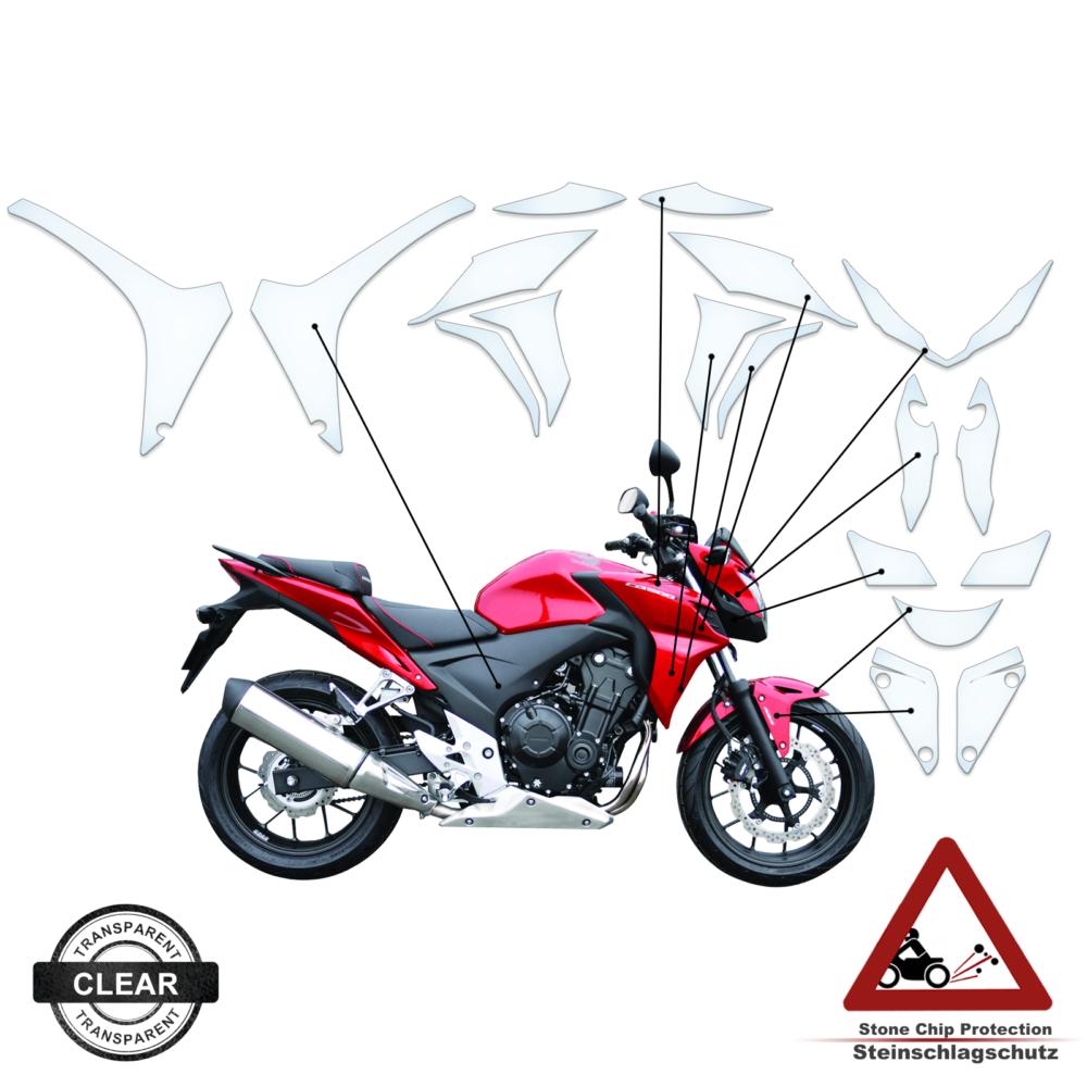 Tank Pad / Tankschutz Folie Honda CBR 500 F