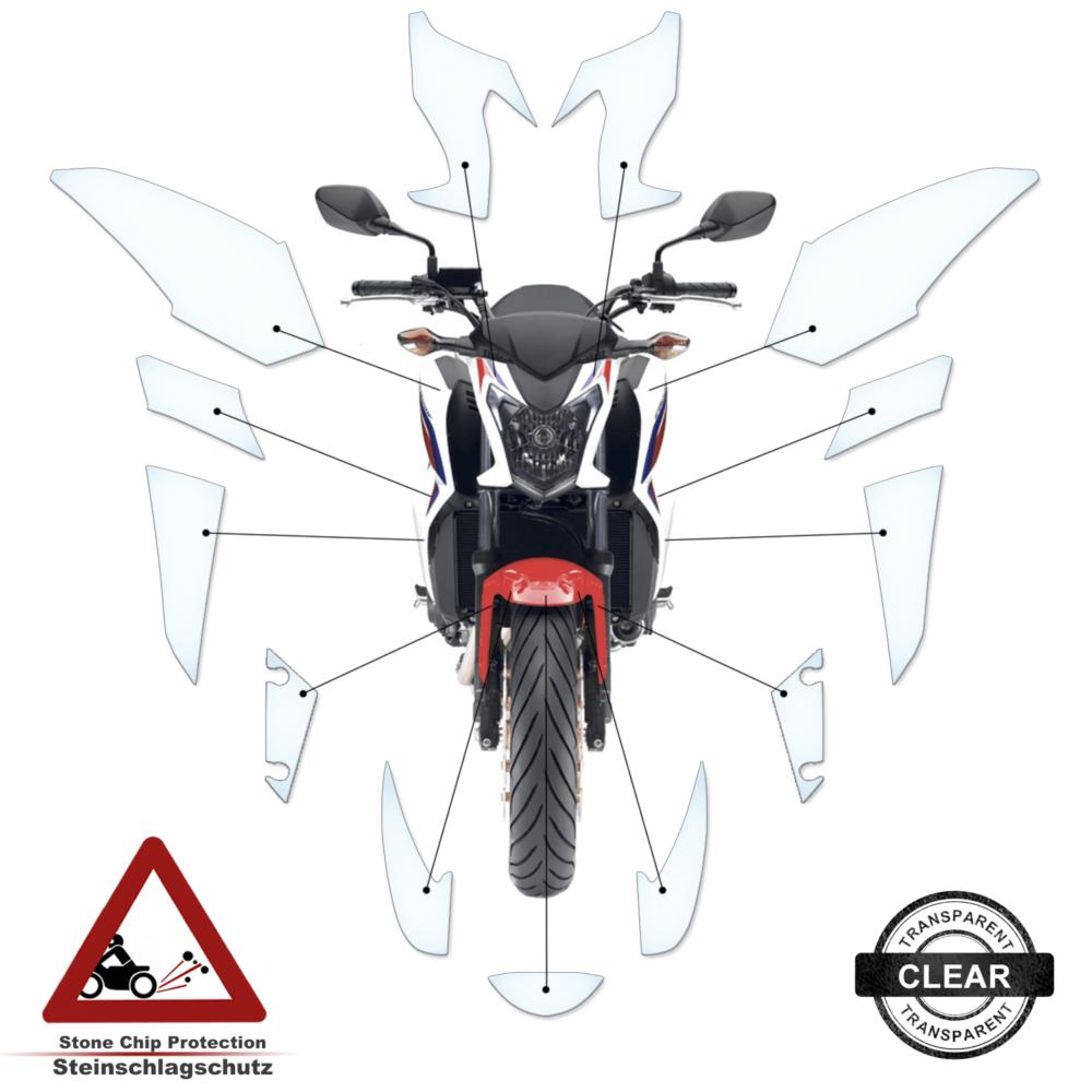 Tank Pad / Tankschutz Folie Honda CB 650F 2014-2017