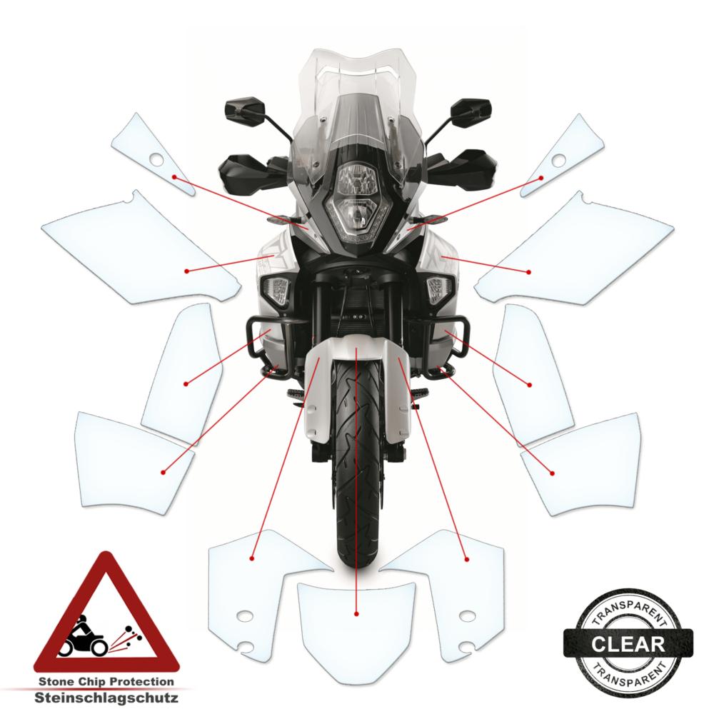 Tank Pad / Tankschutz Folie KTM Super Adventure 2015+