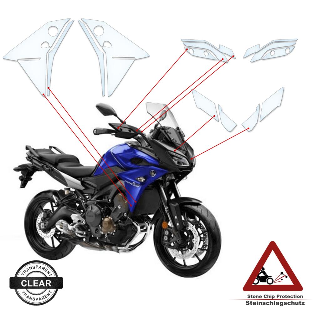 Steinschlag- / Lackschutzfolie Yamaha MT09 Tracer 2015-2018