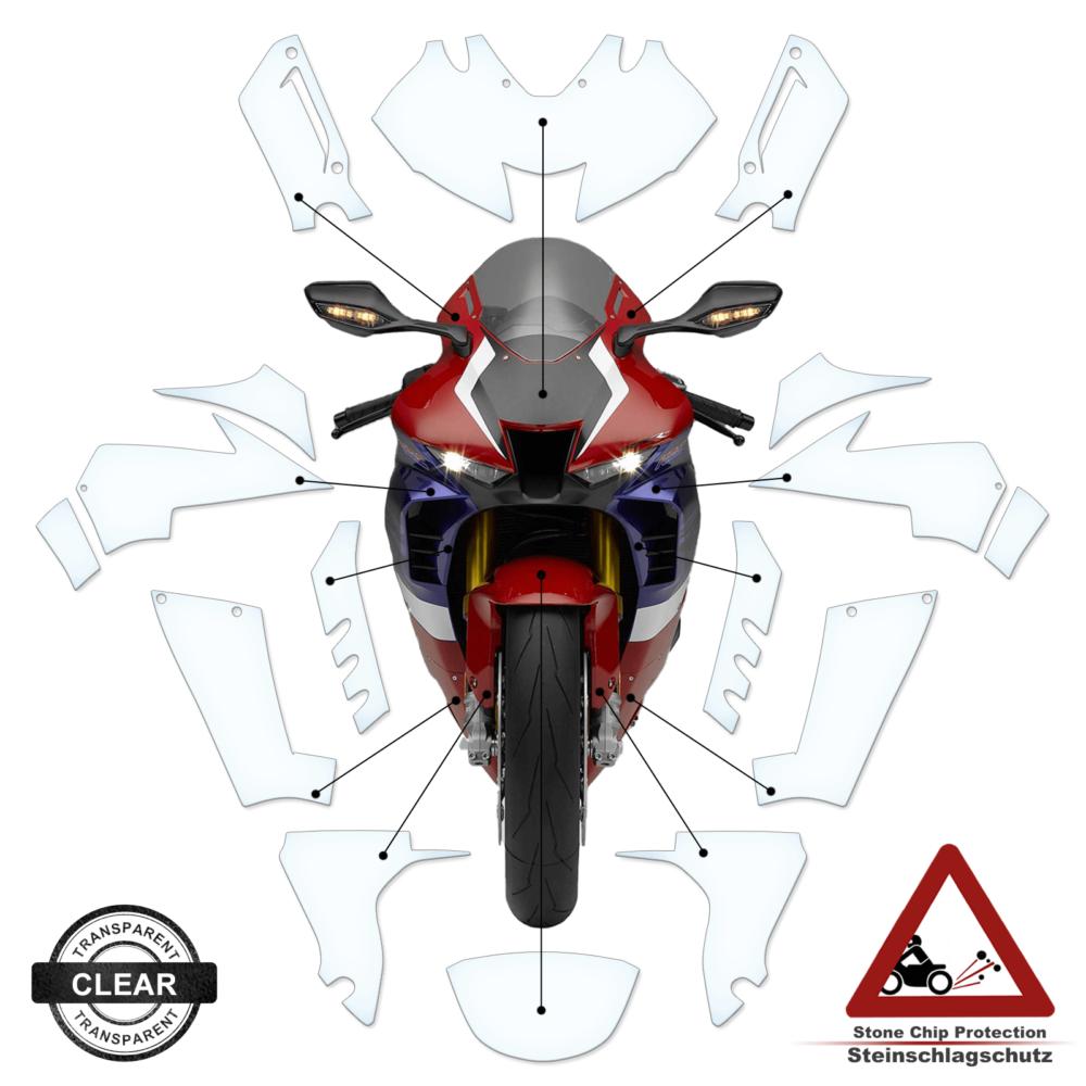 Tank Pad / Tankschutz Folie Honda CBR 1000 RR-R 2020+