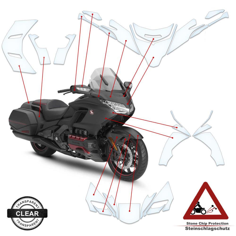 Tank Pad / Tankschutz Folie Honda Bagger 2020+