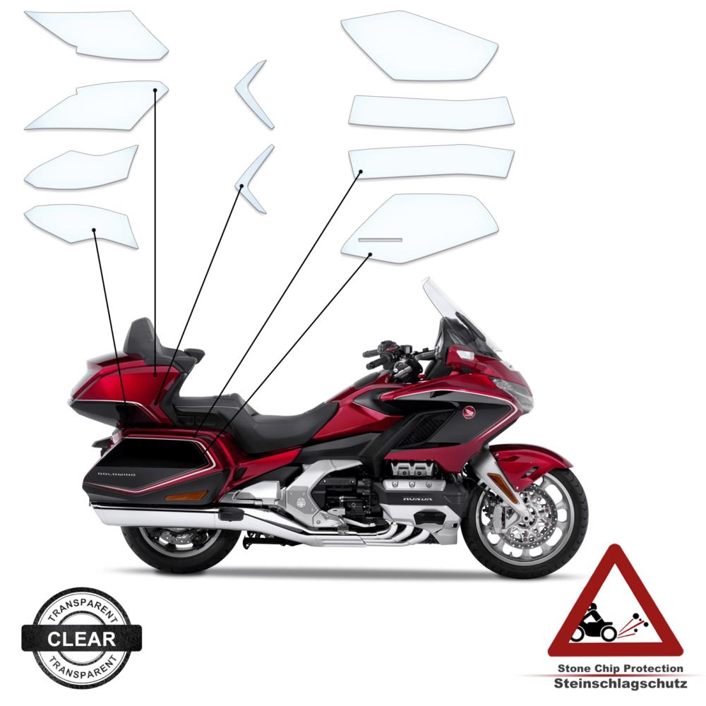 Steinschlag- / Lackschutzfolie Koffer Honda Goldwing 2020+