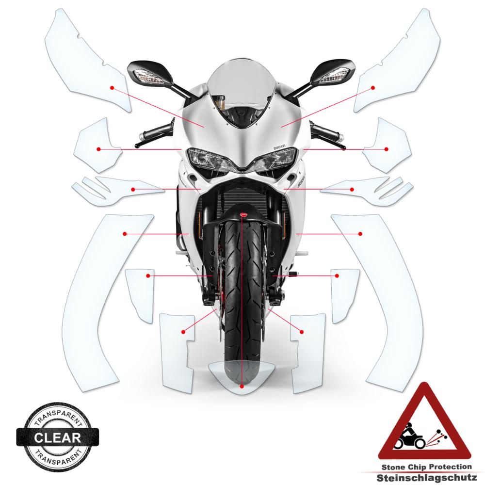 Tank Pad / Tankschutz Folie Ducati Panigale 1299 2015-2017