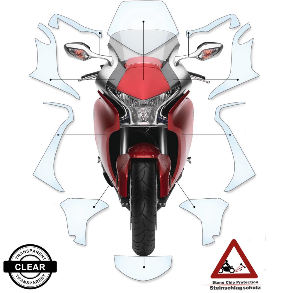 Tank Pad / Tankschutz Folie Honda VFR1200F 2014+