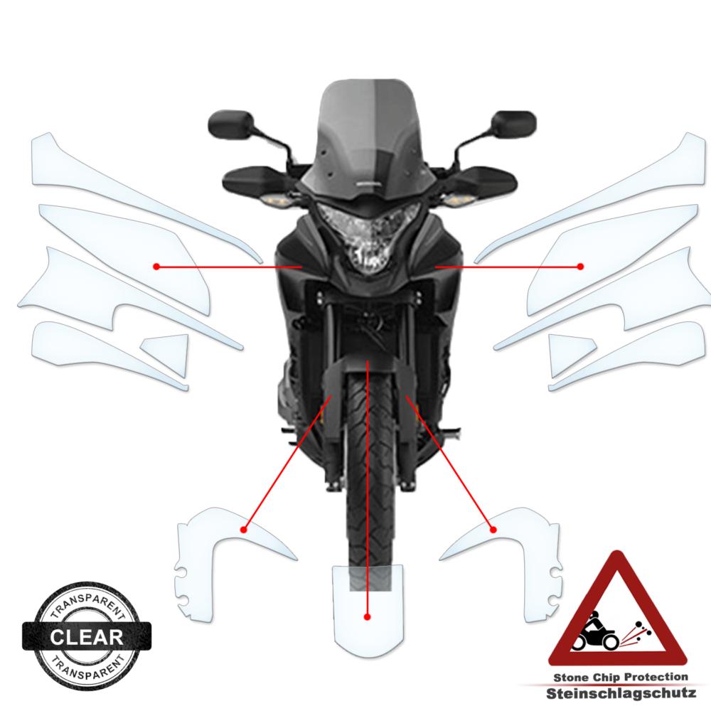 Tank Pad / Tankschutz Folie Honda VFR 1200X Crosstourer 2015+
