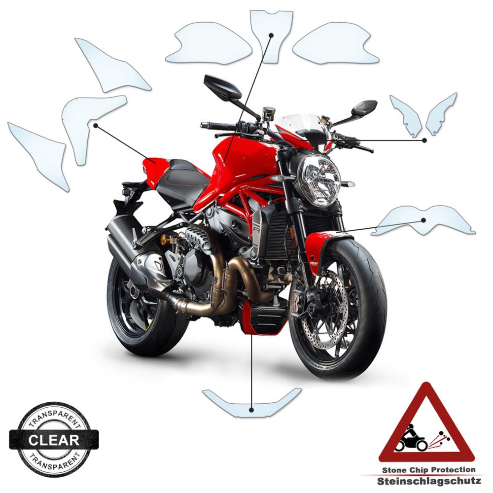 Tank Pad / Tankschutz Folie Ducati Monster 1200 2018+