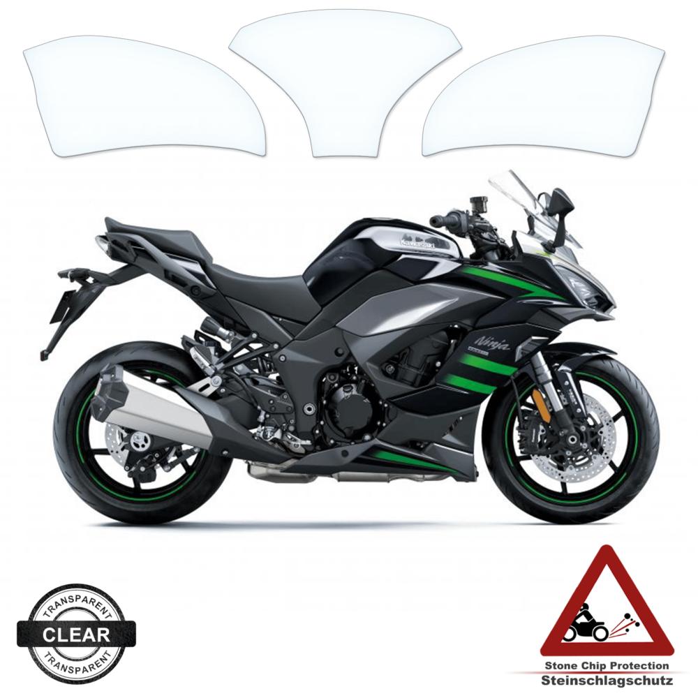 Tank Pad / Tankschutz Folie Kawasaki Ninja 1000 SX 2020+
