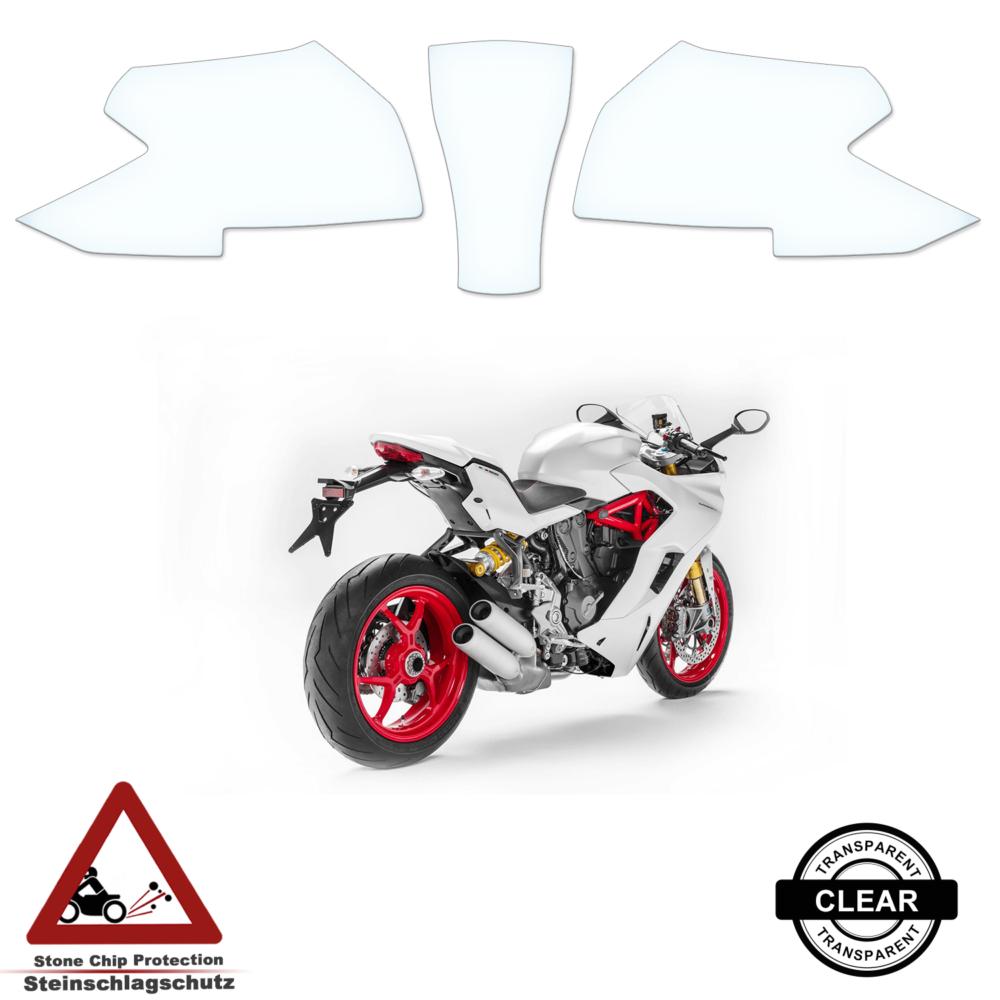 Tank Pad / Tankschutz Folie Ducati Supersport 2017+