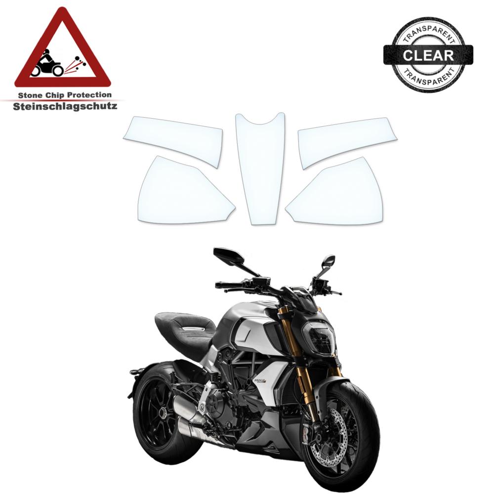 Tank Pad / Tankschutz Folie Ducati Diavel 1260 / S 2019+